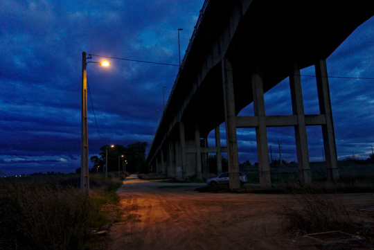 Under the Marechal Carmona Bridge