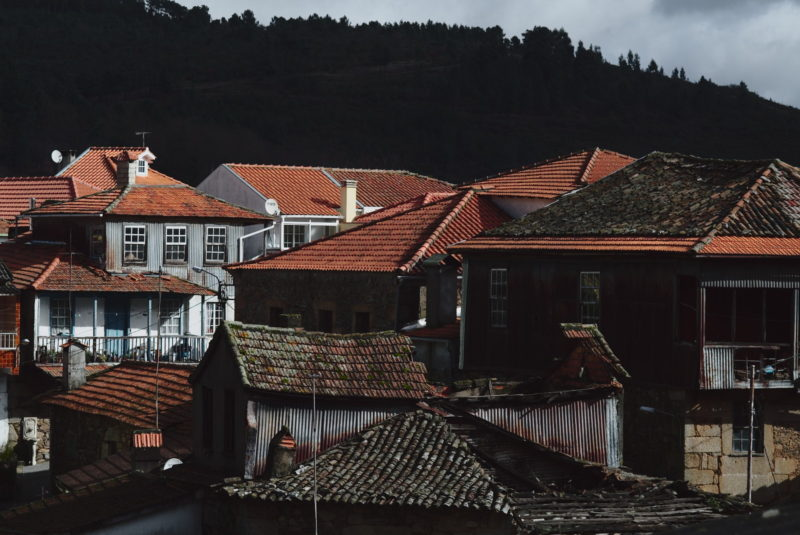The old houses of the village.